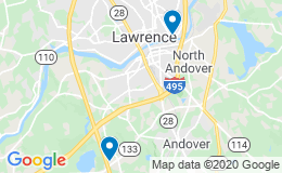 Map of provider practice locations